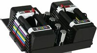 POWERBLOCK Adjustable Personal Trainer Set, 5 to 50 Pounds per Dumbbell (PAIR)