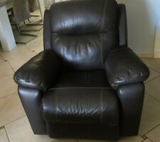 Fauteuil relax en cuir occasion
