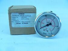 ALFA LAVAL 54305408 PRESSURE GAUGE NEW IN BOX!!! (G94)