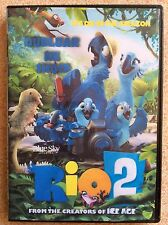RIO 2. DVD with Albanian Film, Movie. Shqip