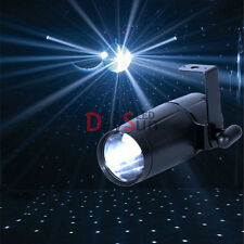 Led Pinspot Moonflower LED Stage Light R/G/B/W for DJ Disco Party Club Free Ship
