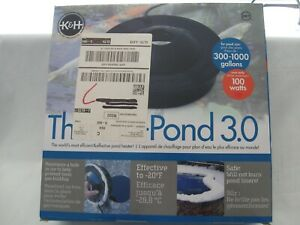 K&H 8001 Thermo-Pond 3.0 Floating Pond 100-Watt De-Icer
