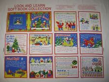 Princess Fabrics Look & Learn Soft Book Collection MY BOOK OF CHRISTMAS CAROLS