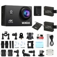 Wimius 4K 16MP Action camera WiFi Waterproof Sports Camera DV Cam Camcorders Q1