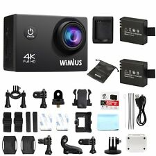 Wimius 4K 1080P 16MP WiFi Waterproof Sport DV Video Action Camera Camcorder CAM