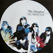 "All About Eve ‎– The Dreamer. 12"" Picture Disc. Mint."
