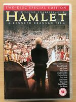 Hamlet DVD 1996 Kenneth Branagh William Shakespeare Classic w/ Kate Winslet