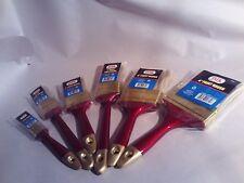 """Paint Brushes Multiple Sizes: 1"""", 1-1/2"""", 2"""", 2"""" Angle, 3"""", 4"""""""