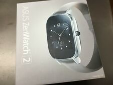 """ASUS ZenWatch 2 Android Wear Smartwatch - 1.45"""" Silver case w/Beige leather Band"""