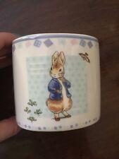 Wedgwood Peter Rabbit Christening Gift Money Box Bank Baby Gift Piggy Bank