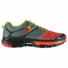 Garmont Mens Grid Running Shoes Trail Lace Up Breathable Mesh
