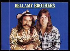 Bellamy Brothers Autogrammkarte TOP ## BC 54884  D