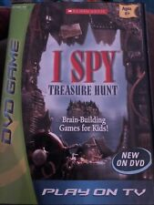 I Spy Treasure Hunt Game DVD Brain Building Game For Kids Sckolastic Play On TV