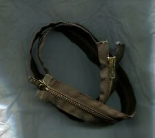 "35 1/2"" Dark Brown & Brass #5  2 Way/2 Pull Separating Talon Zipper NOS"