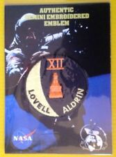 GEMINI XII AUTHENTIC EMBROIDERED EMBLEM Patch 12 Aldrin Lovell NEW SEALED NASA