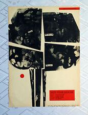 ** EVERY WEEK SEVEN DAYS ** 1SH Original Czech Poster Eduard Grecner