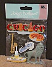 Jolee Boutique Stickers  - Chicago City 10 piece sticker set