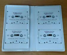 AUDIO CASSETTE SET ANGELES ARRIEN THE WISDOM OF THE TAROT, 4 tape set