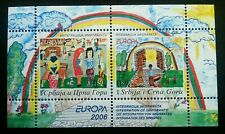 Serbia Montenegro EUROPA Integration Of Immigration 2006 Painting Art (ms) MNH