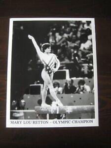 Mary Lou Retton Promotional Black & White Glossy Photos-NEW