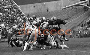 1973 Marv Hubbard OAKLAND RAIDERS - 35mm Football Negative