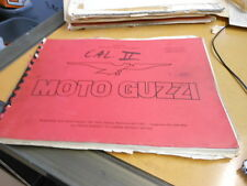 Moto Guzzi Spare Parts Manual Catalog California II