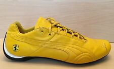 PUMA Ferrari Yellow Leather Shoes Sneakers Men's 11