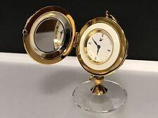 Swarovski Figur Globus / Uhr 5,5 cm. Top Zustand