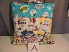 Reader, Pocket Pillow with Dr Suess, featuring Disney Films/Books on Front Flap