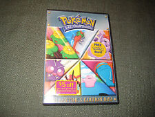Pokemon: Distance to the Johto League Champion - Season 4 Vol. 3 (DVD) Rare OOP