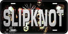 Slipknot Aluminum Novelty Car Auto License Plate