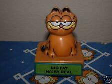 "Garfield 3 1/2"" Moving Head Plastic Figurine-2 Cute FREE FAST SHIP!"