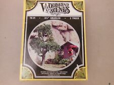 "HO SCALE WOODLAND SCENICS TK 21 4 1/2"" GNARLED TREES KIT"