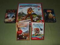 Pegasus Wunderland Mondo Tides of Time Dragon Master Spiele Konvolut Sammlung