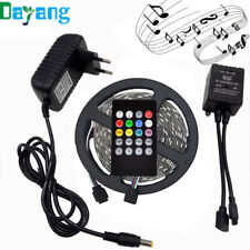 LED Light Strip color 10M With 44 Key IR Remote Controller 12V 2A 5A Adapter