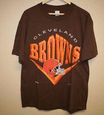 Mens nutmeg mills CLEVELAND BROWNS football 1994 vintage T-Shirt Large L