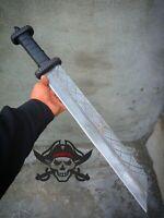 """25.0"""" BEAUTIFUL CUSTOM HANDMADE D2 TOOL STEEL HUNTING SHORT SWORD"""