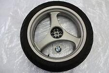 BMW R 1100 Rt Cerchione Girante Ruota Posteriore Rear Rim Wheel +Pneumatici