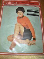 Vintage 70er J. Kiliane Feinstrumpfhose Gr. 3 amber 20 den Collant Tights OVP