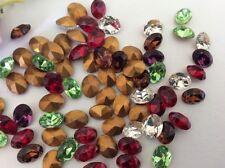 Perline sfuse di strass multicolore
