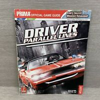 DRIVER: PARALLEL LINES PRIMA OFFICIAL GAME GUIDE By Kaizen Media Group PS2 Xbox