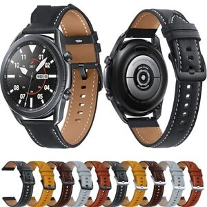 Extra Long Men 's Leather Watch Strap Samsung watch Stitching Design Watch Band