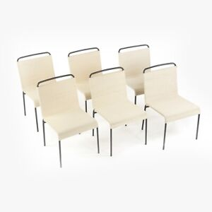 Hendrik Van Keppel & Taylor Green Model 805 Dining Chairs Set of 6 w Cotton Cord