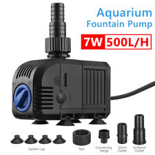 500/900/1500 LPH Submersible Aquarium Fish Water Pond Pump Powerhead Fountain OZ