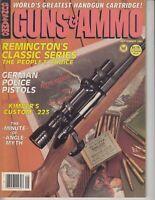 Guns & Ammo Magazine September 1984 - German Police Pistols