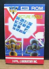 Picture Puzzle-msx ROM-HAL Laboratory Inc.. NEW New Old Stock 1983 Vintage