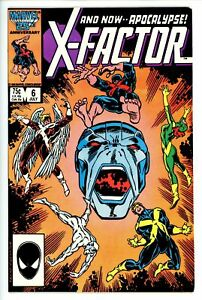 X-Factor Vol 1 6 VF/NM