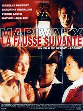 Affiche 120x160cm LA FAUSSE SUIVANTE (2000) Benoit Jacquot - Isabelle Huppert TB
