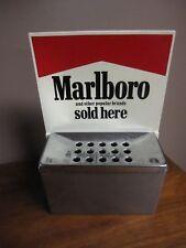 NEW Rare Vintage Marlboro Sold Here Hanging Ashtray.