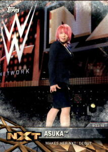 2017 Topps WWE Women's Division NXT Matches and Moments #NXT4 Asuka